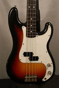 1983 Sq Series Squier Precision Bass Made In Japan
