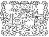 Coloring Pages Zoo Printable Animal Preschool Toddlers Farm Alphabet Stephenjosephgifts Stephen Joseph sketch template