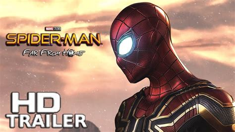 spider man   home concept trailer teases parkers