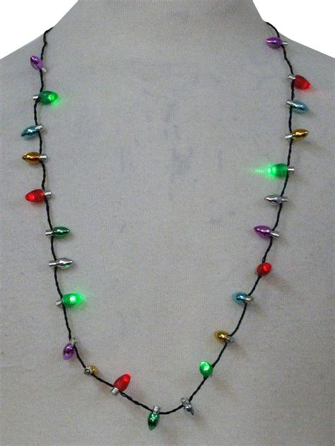 accessories light  christmas necklace light