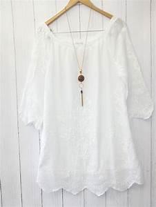 Boho Style Kaufen : diana italy tunika bluse 38 40 42 boho hippie style stickerei wei neu ebay tunika tunika ~ Orissabook.com Haus und Dekorationen