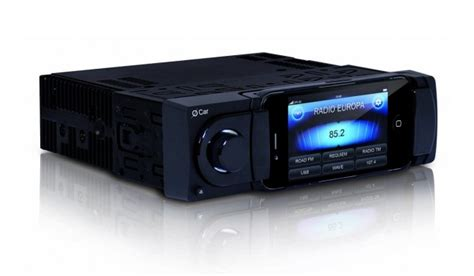 iphone car radio car stereo uses iphone for display everything