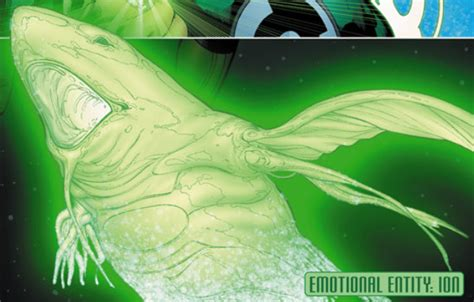 Green Lantern Light by Ion New Earth Dc Comics Database