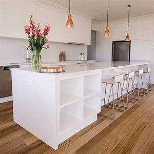 Caesarstone Frosty Carrina kitchen in Melbourne OUR