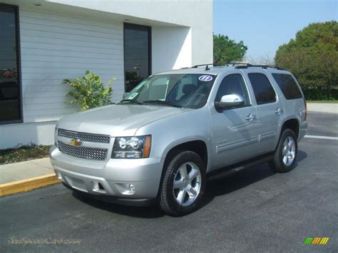 silver tahoe 2011 chevrolet tahoe lt in sheer silver metallic 236491 jax sports cars cars for sale in