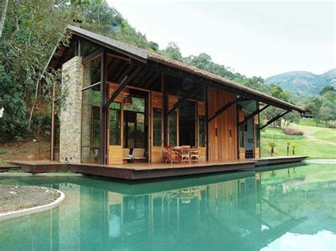 luxury waterfront small house small concrete house modern small lake cabin treesranchcom
