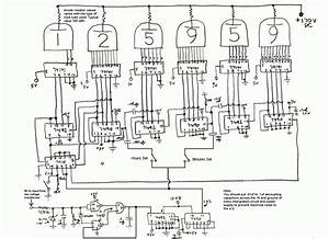 Nixie tube clock schematic google search nexie tube for Schematic nixie tube clock diy nixie tube clock circuit schematic this