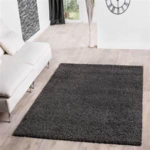 Langflor Teppich Saugen : hochflor shaggy teppich preishammer einfarbig in anthrazit hochflor teppich ~ Markanthonyermac.com Haus und Dekorationen