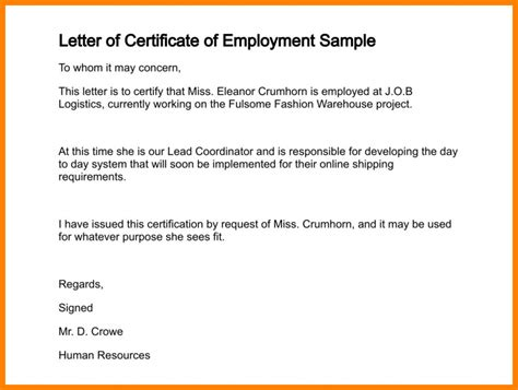 certificate employee certificates templates