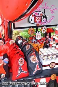jordan basketball party decor bithday ideas pinterest