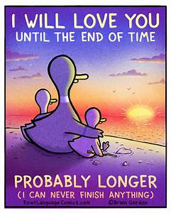 Until The End Of Time - Fowl Language Comics  Until