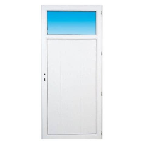 porte de service pvc occulus gauche 205 x 90 cm