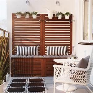 Balkon Bank Ikea : der balkon unser kleines wohnzimmer im sommer freshouse ~ Frokenaadalensverden.com Haus und Dekorationen