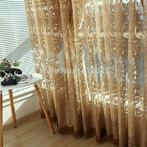3colors high quality sheer tulle curtain modern curtains