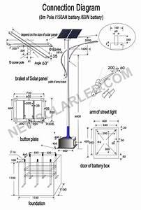 Solar Street Light Connection Diagram