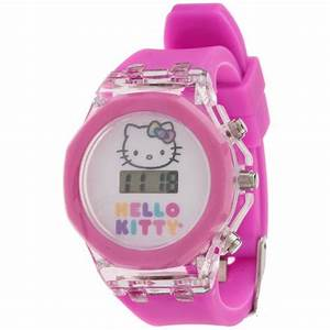 Digital Watches For Girls Mzb girls' hello kitty digital ...