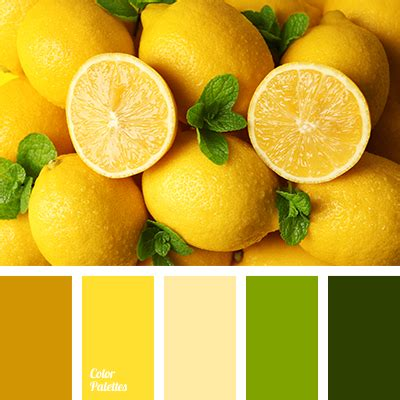 lemon color color of lemons color palette ideas