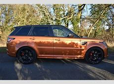 Land Rover Range Rover Sport SVR for sale Stratford Upon