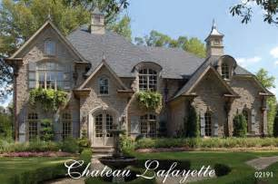 chateau home plans chateau lafayette country house plan