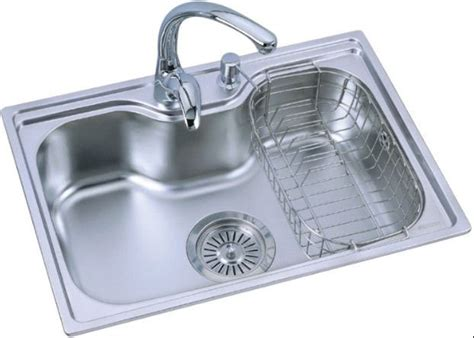 european kitchen sinks stainless steel single bowl stainless steel sink of bk 8505 above sink