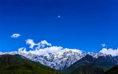Yunnan Mountain Jade Dragon Snow Wide Screen