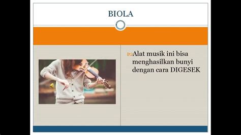 Subtema 1 ini merupakan bagian dari buku tema 1 berjudul. Cara Alat Musik Menghasilkan Bunyi - YouTube