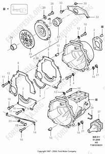 Pinto Ohc Engines Parts List  B8 11 - Clutch