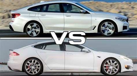 2018 Bmw 6 Series Gt Vs 2016 Tesla Model S P100d