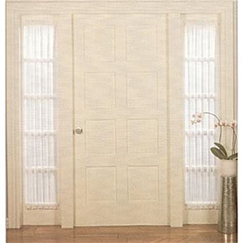 roma ii voile sheer sidelight panel boscovs