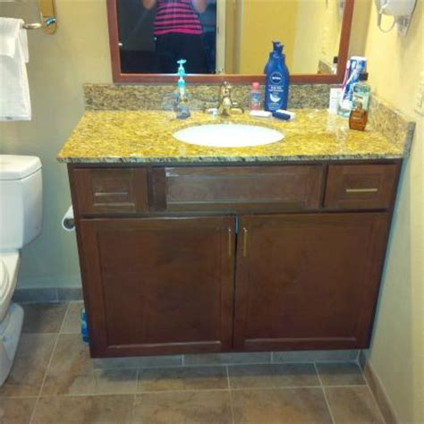 bathroom with granite countertops picture of candlewood