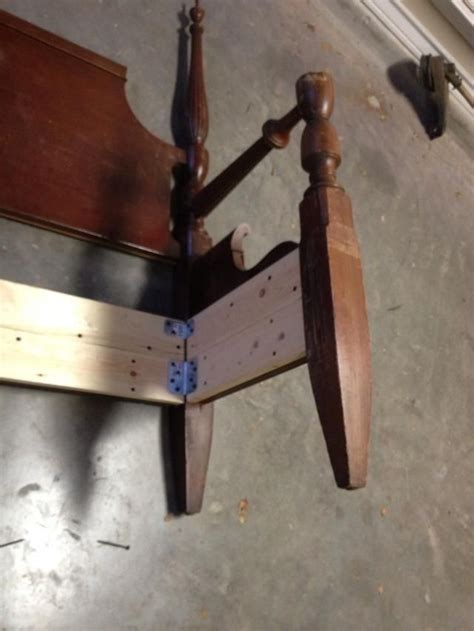 How To Make A Footboard by How To Make A Bench From An Headboard Footboard