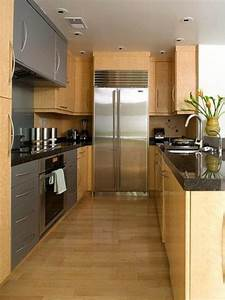 Galley Kitchen Apartment Blog Galley Kitchen Design In Modern Living