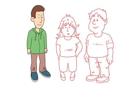 4 Ways To Draw Cartoon Characters