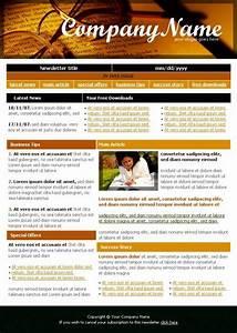 dreamweaver newsletter templates - learning company newsletter template