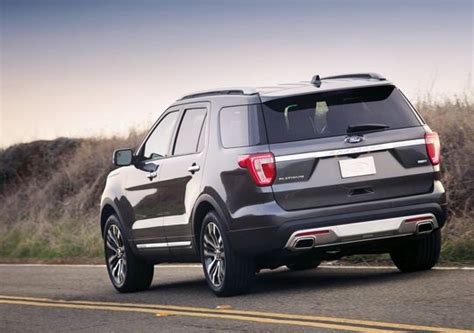 2016 Ford Explorer Platinum Change And Price
