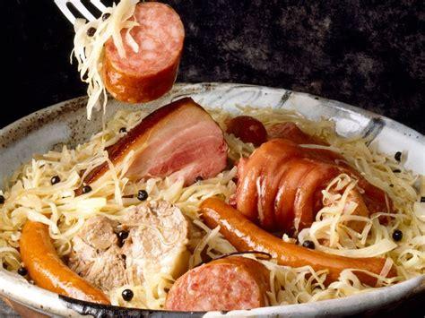 amour de cuisine choucroute alsacienne recettes femme actuelle