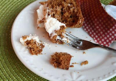 tune  fork gingerbread cupcakes  eggnog buttercream