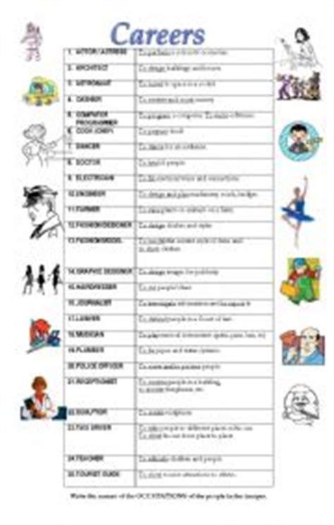 printables career worksheets messygracebook thousands