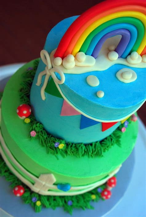 rainbow baby shower rainbow baby shower cake cakecentral