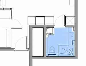 Plan Petite Salle De Bain Avec Wc : plan gratuit salle de bain avec wc c t maison ~ Melissatoandfro.com Idées de Décoration