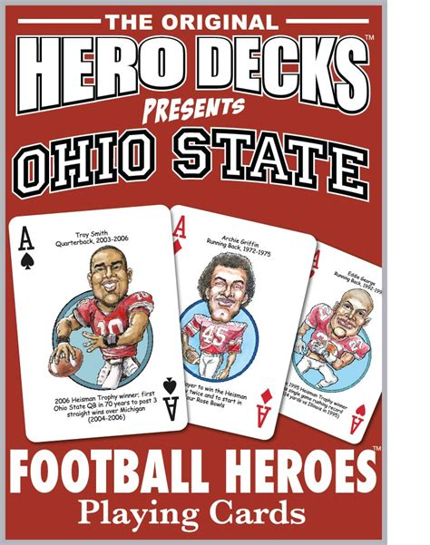 Deck Pappy Bob And Tom by Ohio State Buckeyes Cards Football Cards