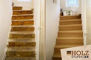 Alte Treppe Verkleiden : betontreppe verkleiden betontreppen holzstufen24 ~ Frokenaadalensverden.com Haus und Dekorationen