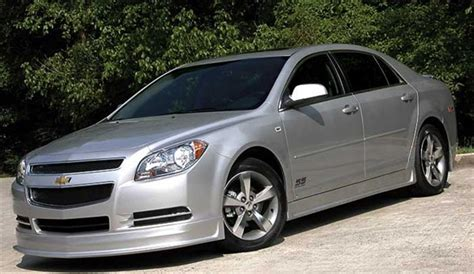 cars pictures information  chevrolet malibu ss review