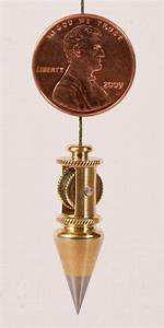 Miniature Brass Plumb Bob Built in Reel on Etsy, $200 00