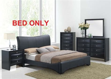 harrison bedroom set modern pc queen king size bed black