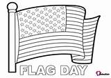 Cartoon Coloring Flag States United June Bubakids Celebrated Congress Continental Second sketch template