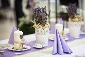 Mediterrane Tischdeko Ideen : tischdeko lavendel gro e bildergalerie ~ Sanjose-hotels-ca.com Haus und Dekorationen