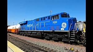 Gecx 3000  U0026 Bnsf Train Action In San Bernardino