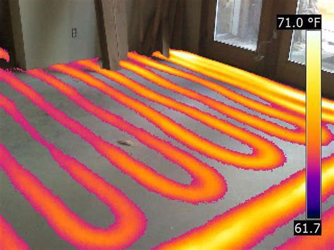 Radiant Floor Heating Detection : Advanced Infrared