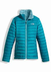 The North Face Girls Size Chart The North Face Girls Reversible Mossbud Swirl Jacket Girls